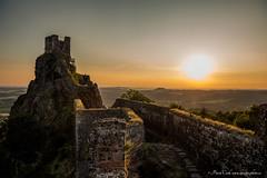 Castle Trosky (Design-photo.cz) Tags: castle trosky sunset sky rocks build