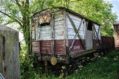 907 Rocks by Rail 180617 (Dan86401) Tags: 907 cr caledonianrailway van wagon freight fourwheeled ventilated rocksbyrail