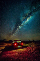 Here we go, for another hunt !!! (Valter Patrial) Tags: sky sunset travel night light evening dark star vehicle outdoors dusk milky way photography nightscape astrophoto no person brasil mato grosso do sul bonito transportation system
