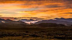 Dry Pond (shufisher) Tags: pond beartooth dry national sunrise mountains park yellowstone panorama wyoming