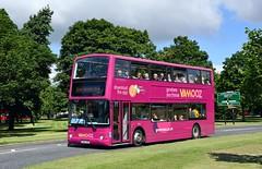 Great Yorkshire Vamooz (jep2510) Tags: volvo b7tl plaxton president national express dundee xplore w412 doe double decker bus public transport north yorkshire govamoozcouk app govamooz livery blazefield