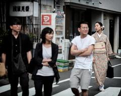 Kenban Wistfulness (Rekishi no Tabi) Tags: asakusa geisha japan tokyo kenban kimono fujifilm xpro2
