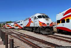 New Mexico's Rail Runner (jamesbelmont) Tags: santafe newmexico mp36 railrunner commuterrail train railroad locomotive