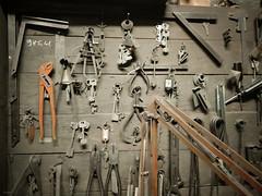 Tools (lorenzog.) Tags: tools keys workshop laboratory blacksmith smith smithy metalworker locksmith abandoned vintage ilobsterit faenza emiliaromagna italy cameraphone
