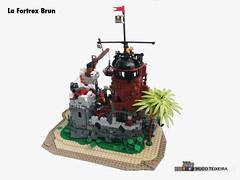 La Fortrex Brun 04 (hrtx) Tags: lego comunidade0937 pirate moc pirates afol