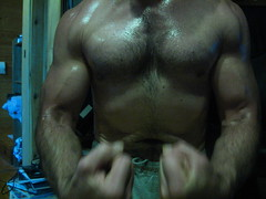 BIG THICK BICEPS (flexrogers7) Tags: muscle muscles muscular strong bicep biceps bizeps flex flexing abs chest pecs delts traps triceps huge round guns workout weightlifter exercise bodybuild bodybuilding bodybuilder thick mondo shoulders lats hugebiceps big ripped hard peak peaked jacked