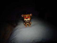 A Delightful Teddy Bear (ridureyu1) Tags: nightmarefreddy fivenightsatfreddys fivenightsatfreddys4 funko pop funkopop bobblehead mysterymini toy toys actionfigure toyphotography sonycybershotsonycybershotdscw690
