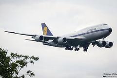 Lufthansa --- Boeing 747-800 --- D-ABYT (Drinu C) Tags: adrianciliaphotography sony dsc rx10iii rx10 mk3 fra eddf plane aircraft aviation 747 retro special lufthansa boeing 747800 dabyt