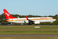 QANTAS B738 |  VH-XZP |  YBBN (Sierra Delta Aviation) Tags: qantas retro roo boeing b738 brisbane airport planes aviation