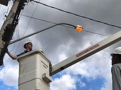 lampada acesa