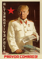 Donald Trump :: Alternative Facts :: Pravda Comrade (WMxdesign) Tags: donald trump alternative facts pravda comrade russia russian interferance president impeachment impeach republican lies liar