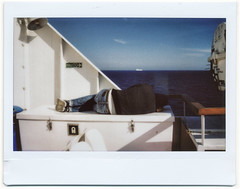Natural born tired (Giorgio Verdiani) Tags: fujifilm instax 100 fujinon 95mm instant istantanea fotografia picture film pellicola elba island isola 2017 mediterranean mediterraneo tirreno sea mare people gente sleeping dormire dormiente sun sole ferryboat traghetto boat ship nave imbarcazione blue blu tired lazy stanco pigro uomo man april aprile