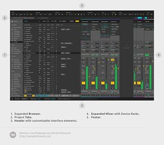 Ableton Live Redesign (nWODT_Cobalt) Tags: controls layout dashboard graph list data properties richobject table
