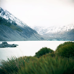 New Zealand > South Island > Mt. Cook (*YIP*) Tags: mountain aoraki mountcook southisland newzeland autumn film filmcamera filmphotography shootfilm squareformat mediumformat analogcamera analog 120 120mm 6x6 filmonly analogphotography kievcamera