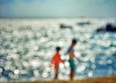 A day in the life (Mister Blur) Tags: blur bokeh beach sea children rivieramaya playadelcarmen bokehdots flicker dots adayinthelife 50thanniversary sgtpeppers thebeatles nikon d7100