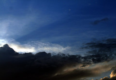 (Del Cristo) Tags: clouds sunsetting florida stormclouds