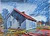 Asuinpuutaloja Savontie Varkaus IMG_0218 (Timo Heinonen) Tags: photo art varkaus varkaudenkaupunki warkaus easternfinland finland taidevalokuvaus taide