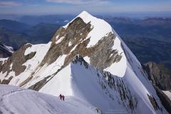 Descent from Montblanc to Rifugio Gonella N°2 (Bernhard_Thum) Tags: bernhardthum thum aguilledebionassay montblanc alps gonellaroute alpinism nature leicam distagon3514zm distagont1435 elitephotography landscapesdreams
