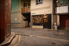 Proof (Andrew_Dempster) Tags: sa laneway urban nightshot kegs night bartender australia proof nightphotography southaustralia nightscape lanewayrooms adelaide bar