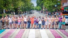 2017.06.10 Painting of #DCRainbowCrosswalks Washington, DC USA 6448