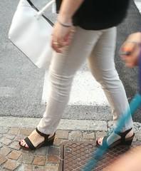 Street feet (666) (♠I Love Feet & Shoes♠) Tags: street sexy feet lingerie tights heels highheels sandali scarpe piedi sandals shoes chaussures pieds sandales schuhe sandalen füse ноги сандалий ботинок туфля pie zapatillas sandalias pés πόδια sapatos παπούτσια sandálias σανδάλια calcanhares каблуки mules huf hoof casco οπλή копыто stockings bas strümpfe medias meias κάλτσεσ чулки sabot pantyhose