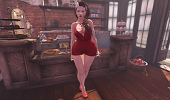 #39: News from Cheeky, Bella Elephante, Hypnose & Supernatural (Mr. & Mrs. Strike) Tags: cheeky hypnose supernatural pretty girl pinup vintage pale bellaelephante red lips blue eyes