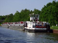 Dettmer Schub 125 (ENI 05603850 (Parchimer) Tags: schubboot pushboat towboat pousseur pchacz duwboot spintore empurradorfluvial binnenschiff tolómotorhajó pushertug bodenteich