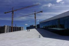 crane (o altan) Tags: oslo norway norge architecture blue sky crane oaltan