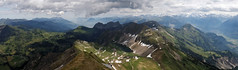Alpine panorama with Eisee (eichlera) Tags: arnihaaggen eisee brienzer rothorn swiss alps mountain lake outdoor nature clouds sky