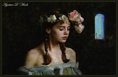 Meg - Giugno-2017 (agostinodascoli) Tags: art digitalart digitalpainting photoshop photopainting agostinodascoli meg impressionismo colore texture donna persone prueheron creative fiori