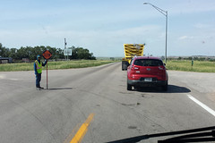 Them Roadwork Blues (twm1340) Tags: june 2017 rv motorhome trip ne nebraska fullerton albion road work construction delay ne14