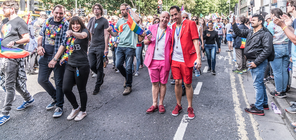 LGBTQ+ PRIDE PARADE 2017 [ON THE WAY FROM STEPHENS GREEN TO SMITHFIELD]-130114