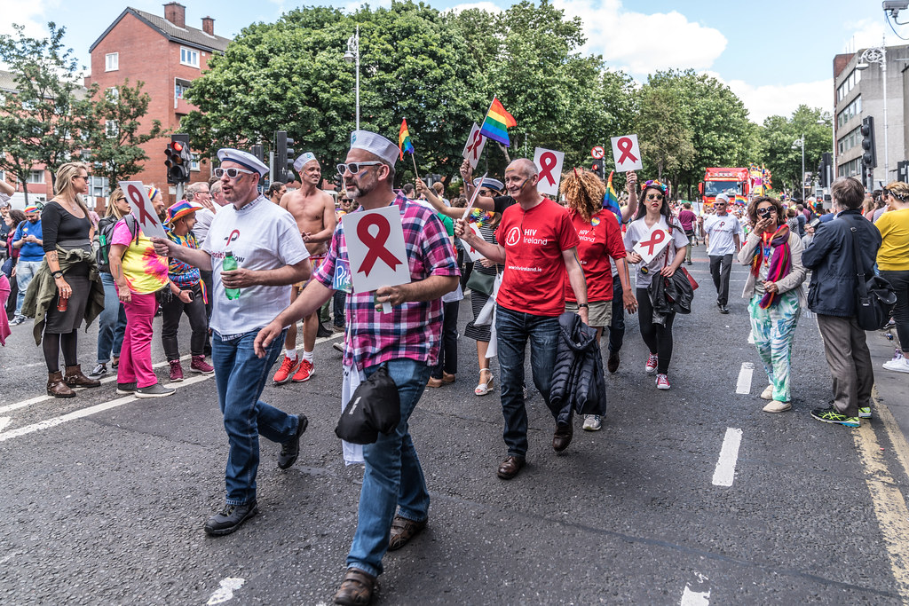 LGBTQ+ PRIDE PARADE 2017 [ON THE WAY FROM STEPHENS GREEN TO SMITHFIELD]-130171