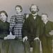 Waldemar Bøgh med familie i Trondhjem (ca. 1864)
