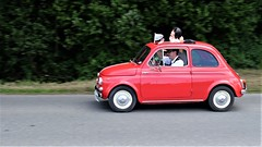 FIAT 500 (claude 22) Tags: tourdebretagne abva 2017 rallye old vintage classic vehicule 2roues collection brittany finistère france vehicles cars automobiles classiques fuji fujifim xt1 18135mm fiat 500 tourdebretagneabva red rouge rojo tourdebretagne2017 claude22 claudelacourarie