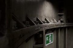 subterranean i (Benedict Flett) Tags: london tube underground borough southwark subterranean