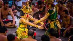 Scenes of Kecak Dance at Ulutawu Temple (Elespics) Tags: bali indonesia uluwatu kecakdance sunset temple uluwatutemple ceremony