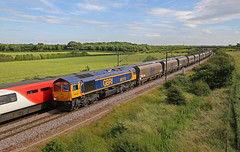 Top & tailed! (DieselDude321) Tags: 66772 66744 class 66 crossrail gbrf 4n11 1634 doncaster down decoy tyne coal terminal bolton percy york