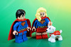 Super Family: Superman Supergirl and Superdog (Lesgo LEGO Foto!) Tags: lego minifig minifigs minifigure minifigures collectible collectable legophotography omg toy toys legography fun love cute coolminifig collectibleminifigures collectableminifigure superman super man supergirl girl superdog dog krypto legobatman3 kryptothesuperdog dccomics dc superherogirls superpet superpets pet pets comics