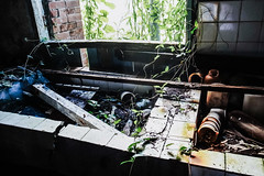 R0035914 (蔡同咨) Tags: 廢墟 ruins 廃墟 台湾 taiwan light shadow ライト 光 廢棄 荒蕪 abandoned barren
