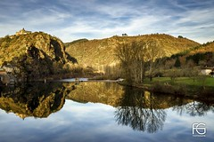 Reflection (Fabien Georget (fg photographe)) Tags: ambialet water monastère longexposure landscape paysage sky ayezloeil beautifulearth bigfave canoneos600d canon elitephotography elmundopormontera eos fabiengeorget fabien fgphotographe flickr flickrdepot flickrunited georget geotagged flickunited longue mordudephoto nature paysages perfectphotograph perfectpictures wondersofnature wonders supershot supershotaward theworldthroughmyeyes shot poselongue photography photo greatphotographer french monument bluehour granit sunset slowshutter reflection blue hour heure bleue albi tarn eau waterfall waterscape