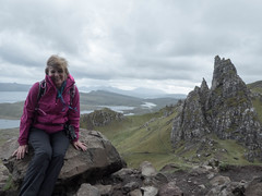 At Old Man of Storr (petrova fossil :)) Tags: skye scotland old man storr