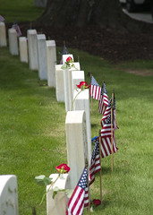Memorial Day (lucepics) Tags: memorial day cemetery marietta national flag flags georgia