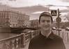Meanwhile in Leningrad (parchee) Tags: russia stpetersburg kippa yarmulke canal teenager sepia