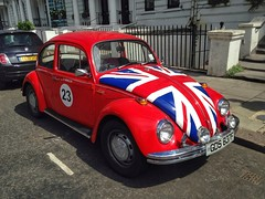 Notting Hill (brimidooley) Tags: uk england britain gb greatbritain citybreak city travel europe car beetle vw volkswagen unionjack nottinghill portobello kensington london unitedkingdom londra londres ロンドン 런던