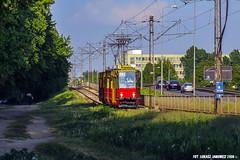 Konstal 105Na #1162 (Łukasz Janowicz) Tags: konstal 105na 1162 warszawa dywizjonu303 tram tramwaj