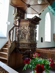 preekstoel kerk Pieterburen (frits huisman) Tags: pieterburen houtsnijwerk