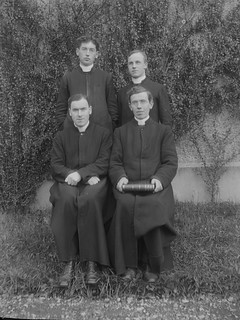 Clergymen at Maynooth. Circa 1915