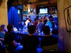 G-Bar - Trastevere/Rome (mikehaui60) Tags: olympuspenepm2 pen epm2 mft trastevere gbar bar rome italy streetphotography peoplephotography nightshot
