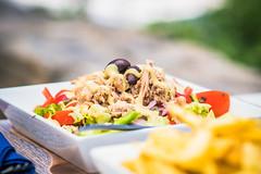 food_1 (A & A McKee) Tags: nikon d500 18 85mm bokeh food macro closeup salad seafood crete loutro greece lunch taste deliciuos olives tuna